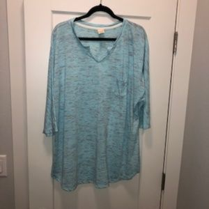 Faded Glory knit tunic 3X
